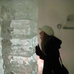 conferindo se é de gelo mesmo...hehe