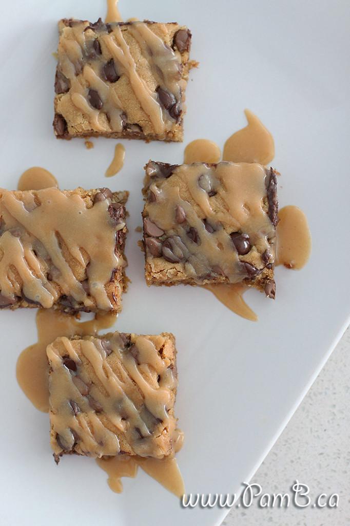 brownie de manteiga de amendoim e aveia 2