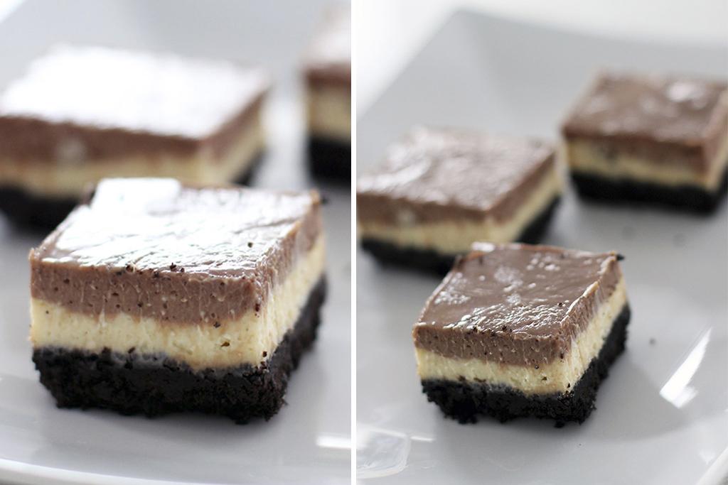 cheesecake de nutella e oreo pam b. Black Bedroom Furniture Sets. Home Design Ideas