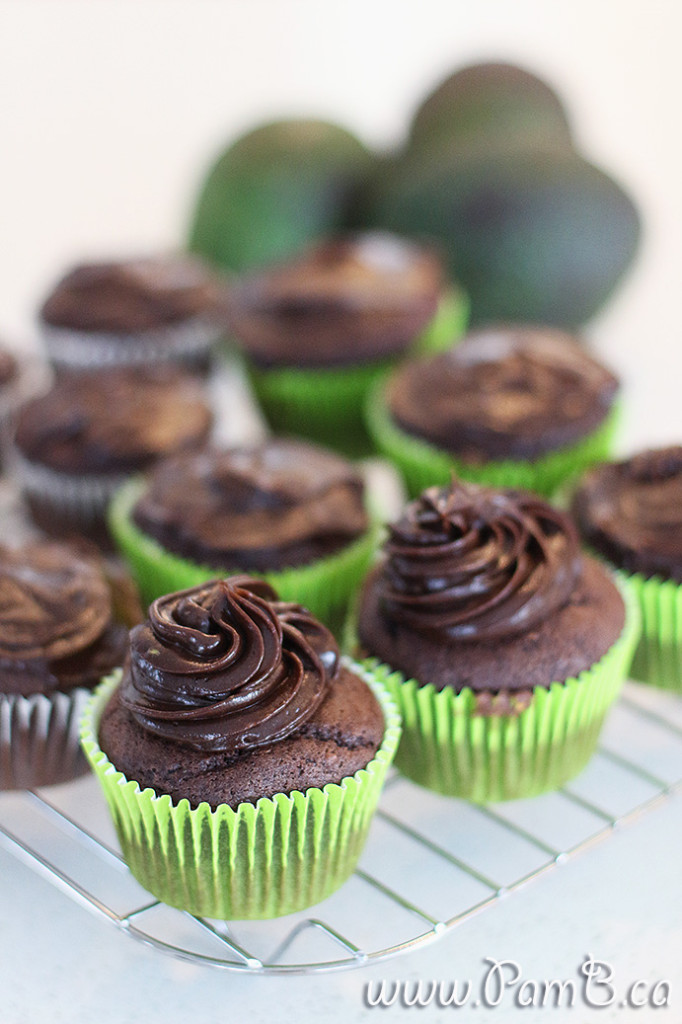 cupcake de abacate