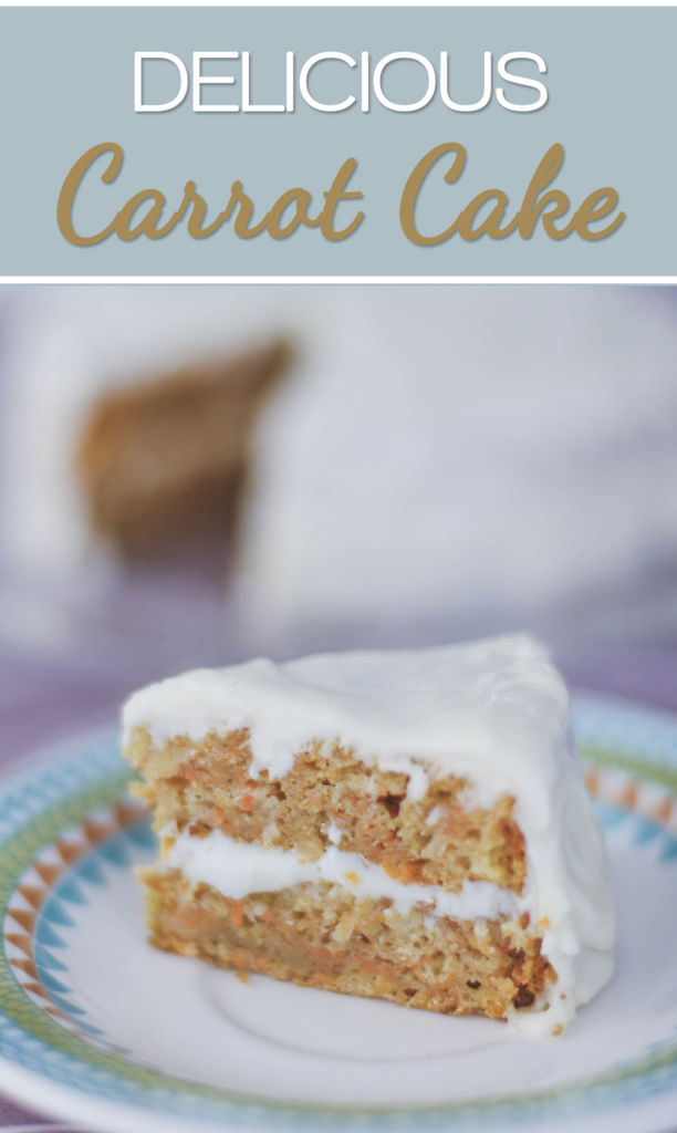 Easy And Delicious Carrot Cake