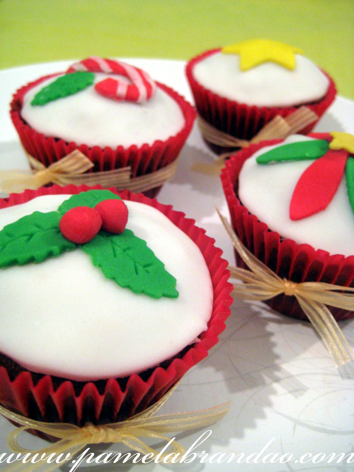 Perfect Recipe » Blog Archive » Christmas Cupcake
