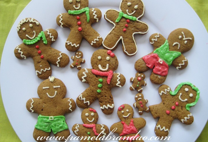 gingerbread man & Gingerbread Men - Pam*B