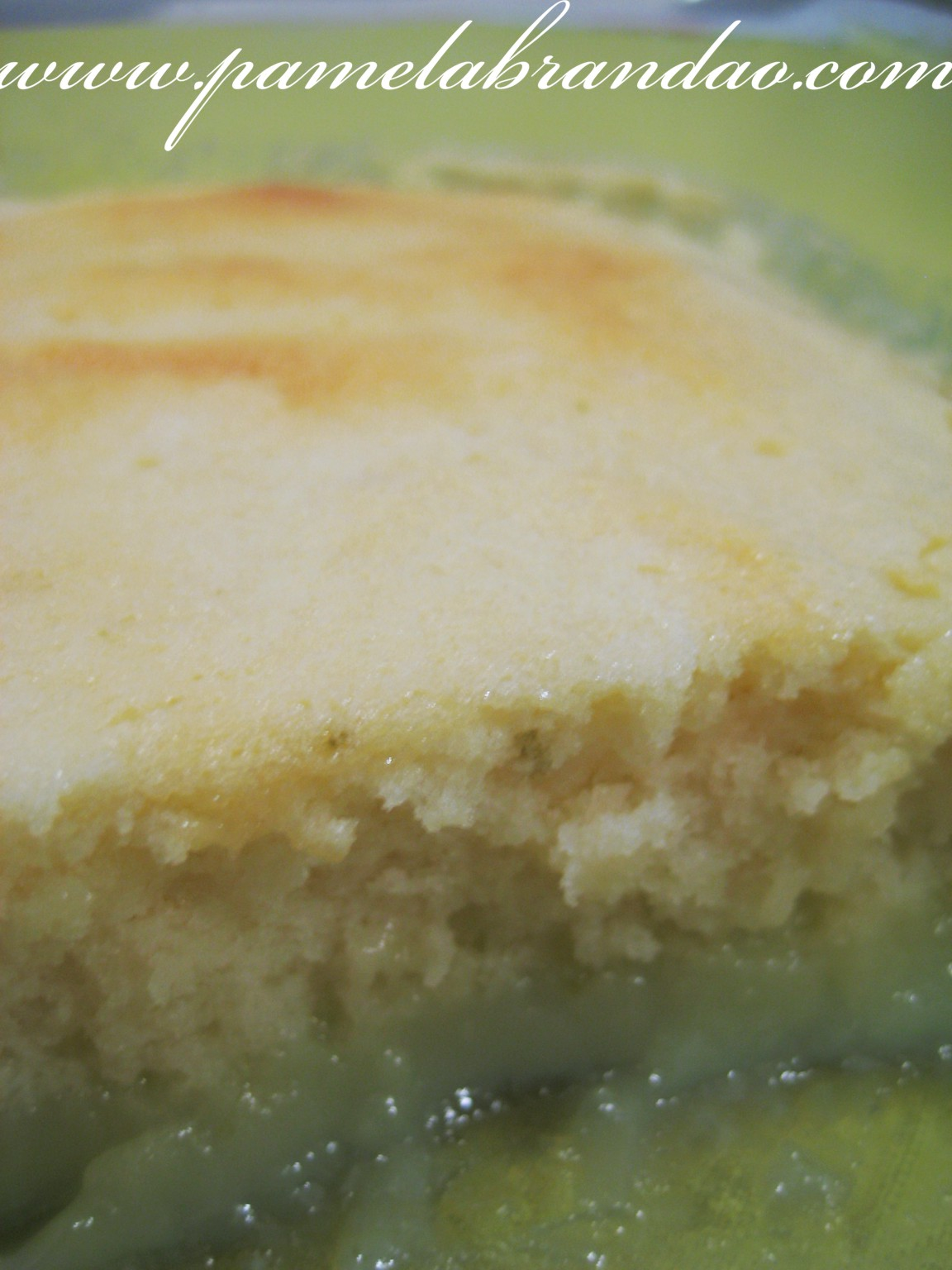 Lemon Souffle Pudding Cake   Pam*B